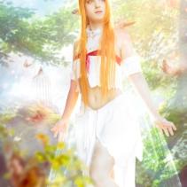 Asuna titania sword art online cosplay by luzbeldauvergne shoot davidmassa