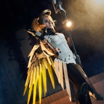 Mercy cosplay overwatch by luzbeldauvergne shoot quantumsomnium