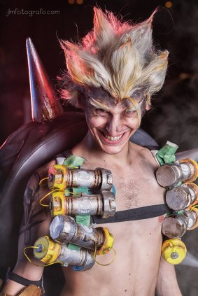 Cierverus as Junkrat - Shoot by JLM Fotógrafo