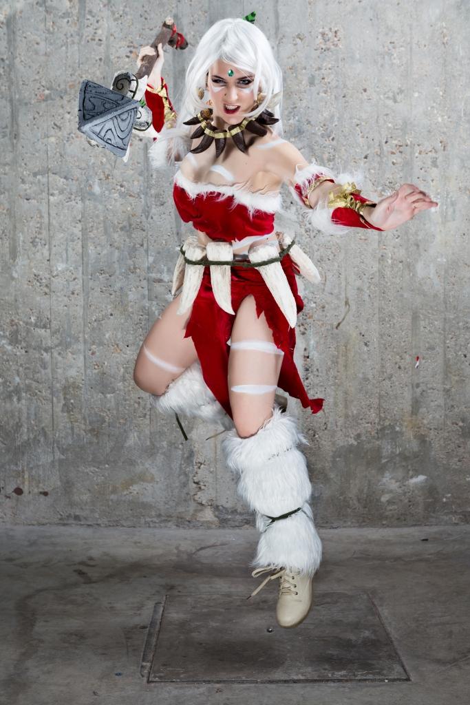 Shoot by Sergio Vela - Nidalee cosplay by Luzbel d'Auvergne