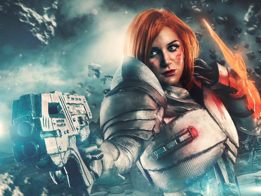 Shoot by Rebeca Saray - Shepard cosplay by Luzbel d'Auvergne